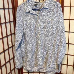 Eddie Bauer women blouse size XL